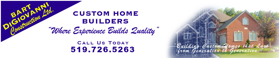 """Where Experience Builds Quality - This is where were you can find our latest custom homes and company news. """"Building Custom Homes that Last from Generation to Generation"""""""