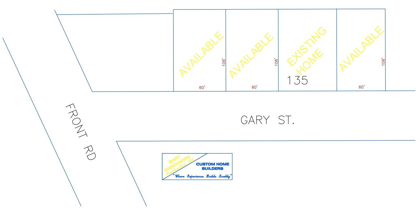 Gary St Lots diagram